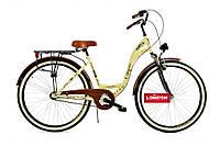 НОВИНКА!!! ПОЛЬСКИЙ Городской Велосипед CITY BIKE 28 + скорости Shimano Nexus 3 + Амортизатор + КОРЗИНА