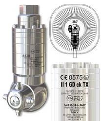 Моющая головка с гидроприводом A42R-316 -360° для мойки цистерн