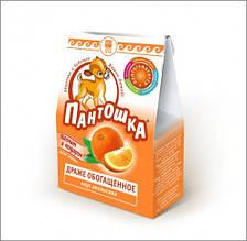 Пантошка, драже - обогащенный пищевой продукт, дополнительный источник витамина С