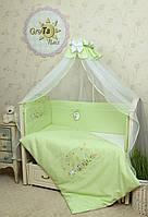 Комплект детского постельного белья для новорожденных Радуга