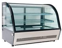 Витрина настольная холодильная Altezoro LMZX-C 120L