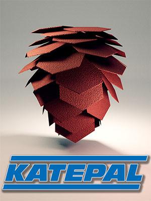 Финская битумная черепица KATEPAL (Катепал)