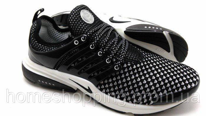 Мужские кроссовки Nike Air Presto Flyknit черные