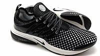 Мужские кроссовки Nike Air Presto Flyknit черные, фото 1