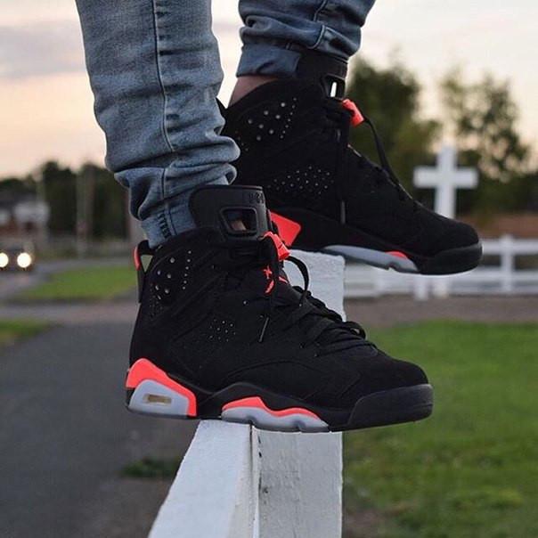 Кроссовки мужские Nike Air Jordan 6 / AJM-084