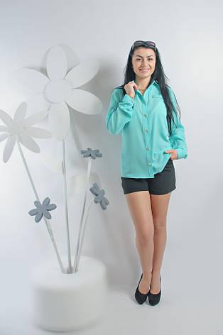 Молодежная блуза длинный рукав, фото 2