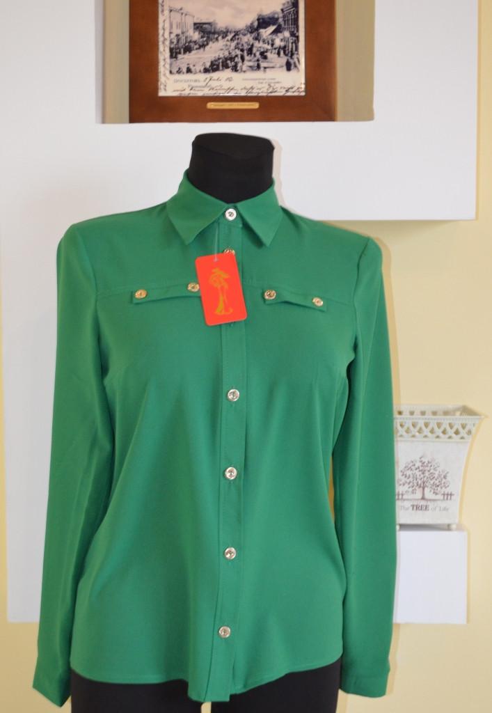 Молодежная блуза длинный рукав