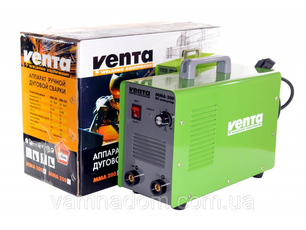 Сварочный аппарат Venta ММА-200 Италия