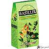 Зеленый чай Basilur Зеленая свежесть - Коллекция «Букет» 100г