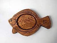 """Дерев'яна монетниця """"Риба"""", фото 1"""
