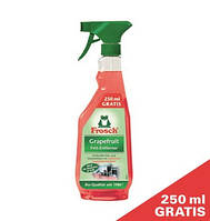 Фрош - натуральное очищающее средство против жира и сильных загрязнений Frosch Grapefruit Fett-Entferner  750
