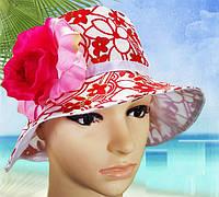 Панама Цветок детская для девочки