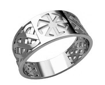 Кольцо серебряное Коловрат 30384
