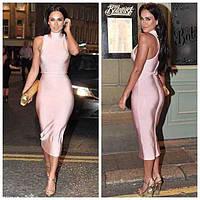 Herve Leger бандажное платье абрикос воротник,платье выпускного вечера 4 цвета