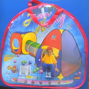 Игровая детская палатка с тоннелем А999-53, 230х91х78см, фото 2