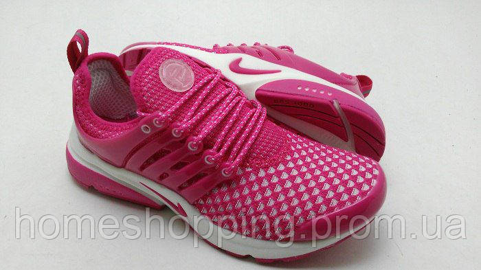 Женские кроссовки Nike Air Presto Flyknit Pink