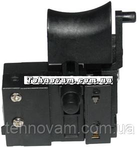 Кнопка на сетевой шуруповерт с тонким фиксатором