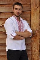 Вышитая мужская рубашка М02/1-212, фото 1