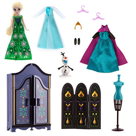 Ельза набір лялька принцеса і гардероб Холодне серце ДІСНЕЙ / DISNEY Frozen