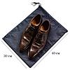 Мешок-пыльник для обуви с затяжкой (синий), фото 2