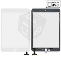 Сенсорный экран (touchscreen) для iPad mini 3 Retina, белый, оригинал