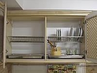 Сушка для посуды двухуровневая 700 мм - Нержавейка, фото 1