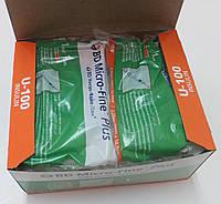 Шприц  медицинский одноразовый инсулиновый 1 мл / U-100 / G-29 (0,33*12,7) / BD Microfine, фото 1