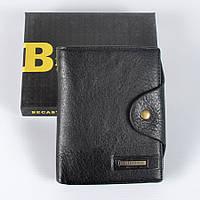 Чоловічий шкіряний  гаманець  Becastri, фото 1