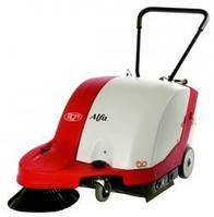 Подметальная машина для уборки тротуаров и парков ALFA