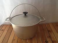 Казан алюминиевый толстостенный 6 литров