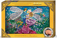 Мозаика из пайеток в коробке: Дюймовочка Пм-01-07 Danko-Toys Украина