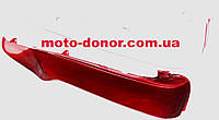 Пластик для мопеда Active - защиты ног правый+левый к-кт, КРАСНЫЙ