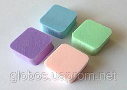 Спонж натуральный ластик GLOBOS 4шт Р6401