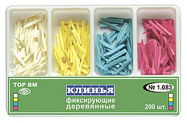 Клинья ТОР 1.083 (набор 4-х типов 200шт.)