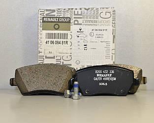 Тормозные колодки передние на Renault Dokker 2012-> — Renault - 410608481R