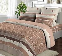 Двуспальный комплект постельного белья Геометрия (beige)
