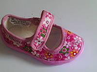 Детские текстильные тапочки  для девочки Vitaliya