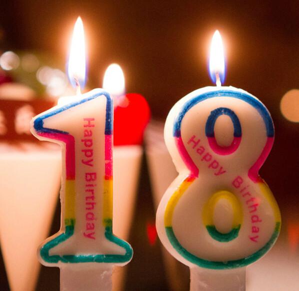 свечи цифры для торта