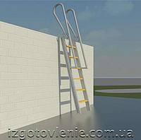 Кровельные лестницы, артикул 01-07-0006