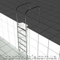 Лестницы для бассейнов, артикул 01-08-0004