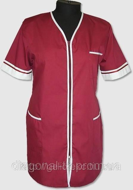Пошив халатов для продавцов - Диагональ ТК — Спецодежда, Cпецобувь, Трикотаж, Ремни Офицерские в Виннице