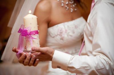свадебные и декоративные свечи