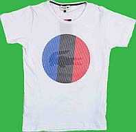Футболка для мальчика (158-164)(Турция) 158, Белый