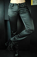 Красивые атласные штаны