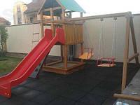 Изготовление резиновой плитки для детских площадок, фото 1