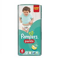 Подгузники - трусики Pampers Pants Extra Large 6 (16+ кг) 44 шт (Унисекс)