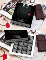 Шоколадный набор 20 плиток XL «Настоящему Мужчине»