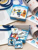 Шоколадный набор 12 плиток «Сладкие игры»