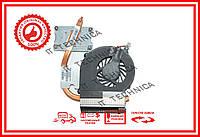 Вентилятор + радиатор HP COMPAQ CQ43 оригинал