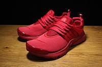 Кроссовки женские NIKE AIR PRESTO D411 красные